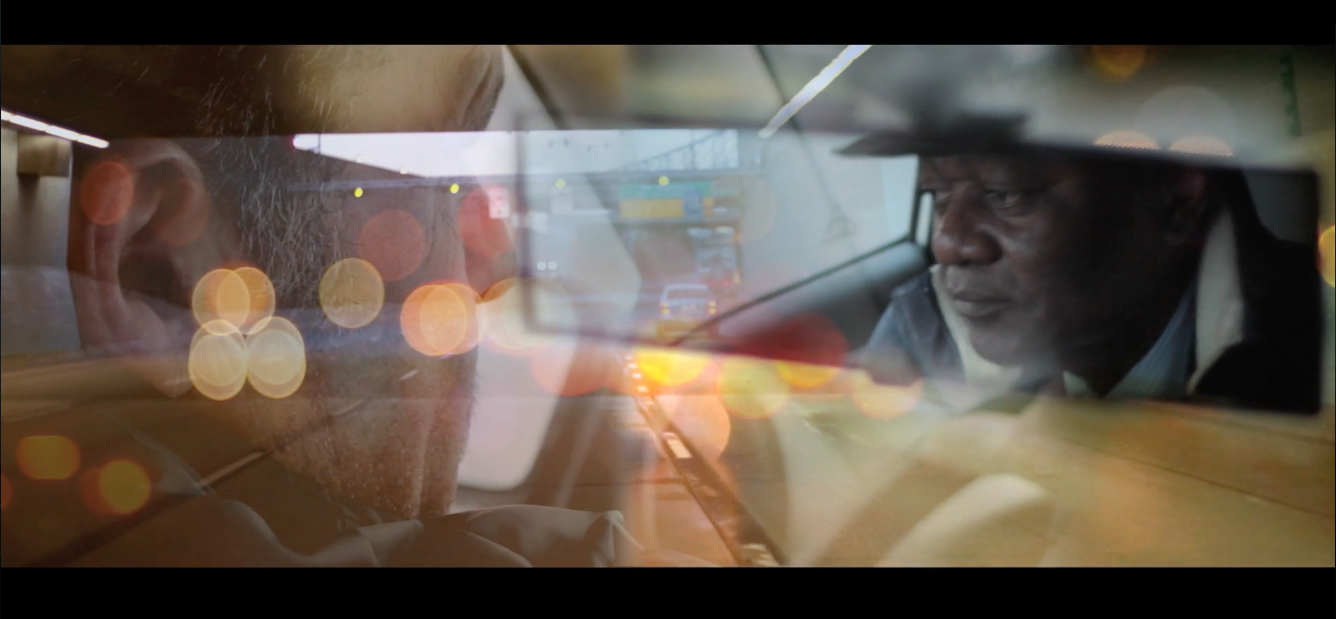 "Still image from ""Taxi for Two"", Dan Popa, 2012, Les Films du 3 Mars"