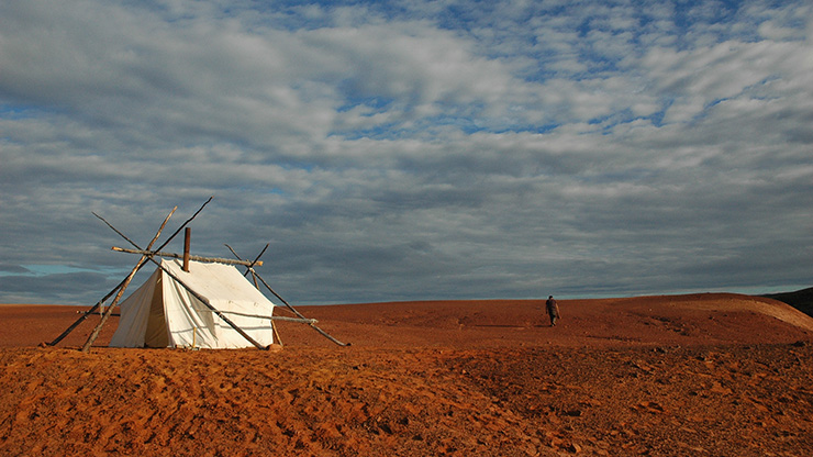 Photo of A Tent on Mars