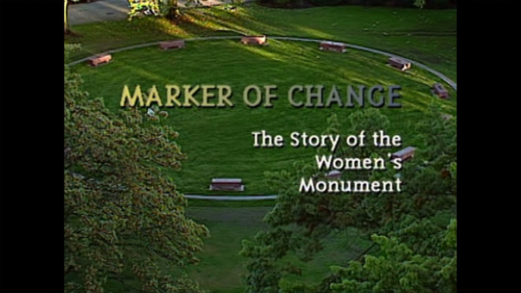 Marker of Change Monument at Thorton Park