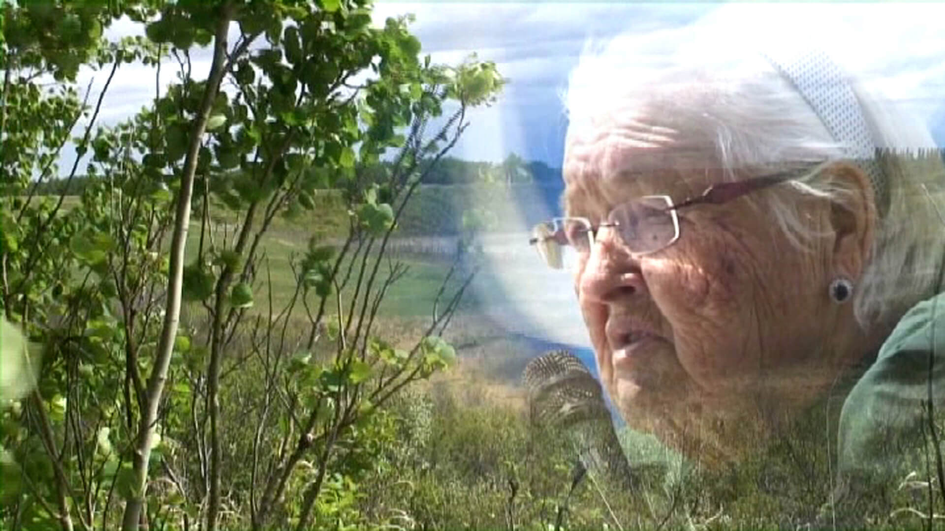 """Métis Rose: A Portrait of Elder Rose Fleury"", Marjorie Beaucage, 2012, VideoPool"