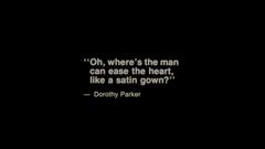 Dorothy Parker's The Waltz