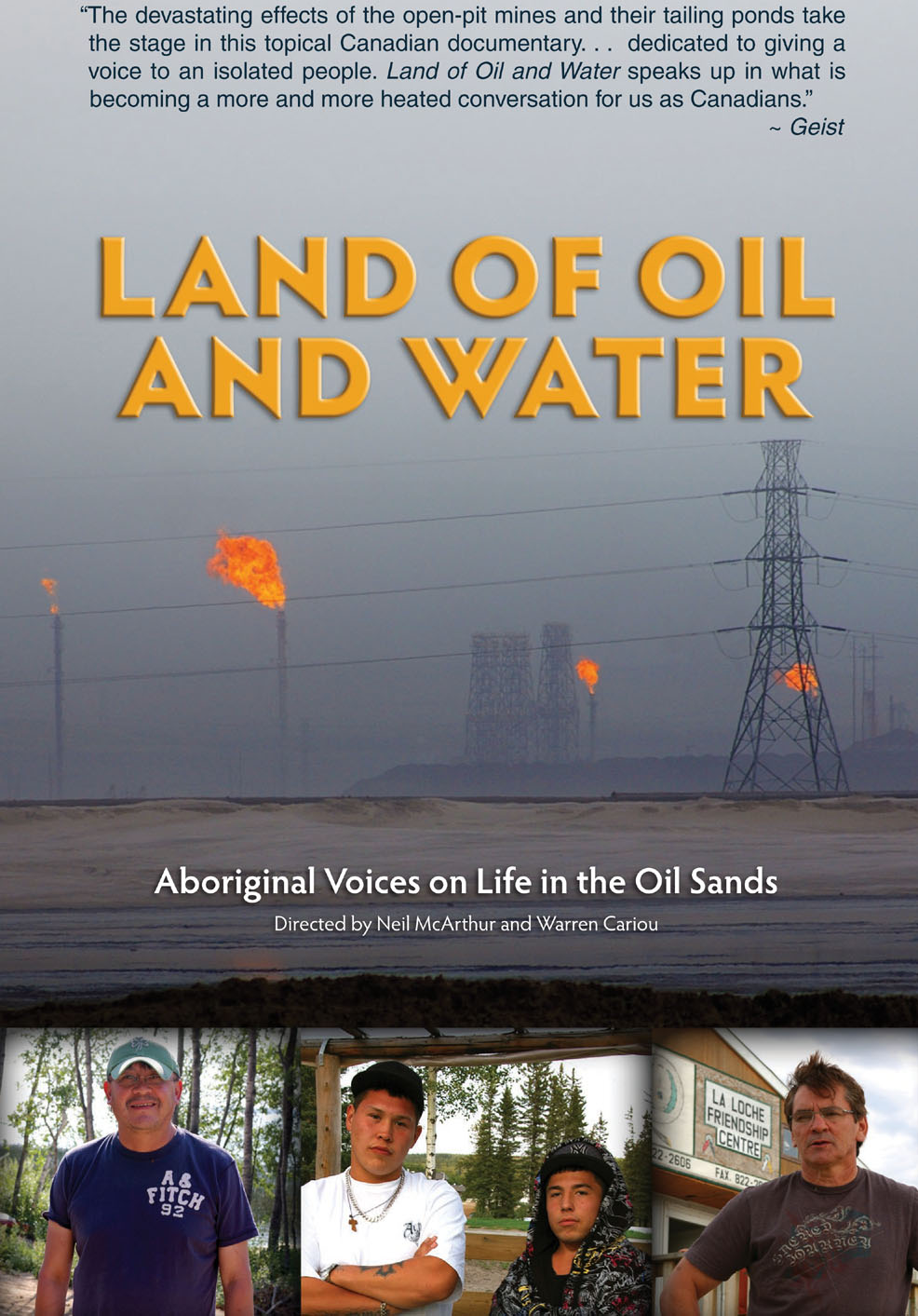 LAND OF OIL AND WATER & OVERBURDEN DVD